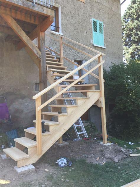 escalier menuiserie quot le bois des huiles quot c guillard votre artisan menuisier sur mesure 06