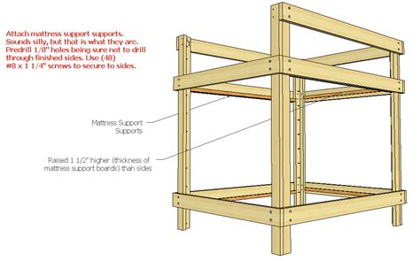 Loft Bed Woodworking Plans by Free Diy Loft Bed Plans Woodworking Plans