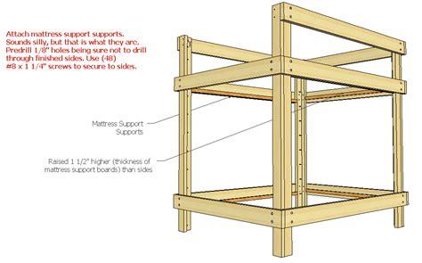 Loft Bed Woodworking Plans by Free Diy Loft Bed Plans Woodworking Plans