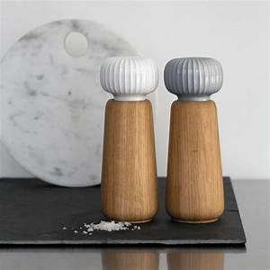Stelton Salz Und Pfeffermühle : hammersh i salz und pfefferm hle von k hler design ~ Markanthonyermac.com Haus und Dekorationen