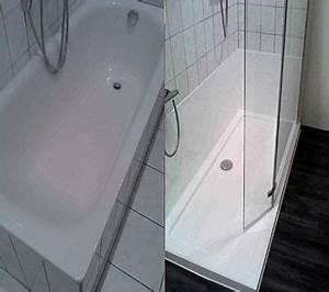 Umbau Wanne Zur Dusche : system wanne zur dusche badewanne raus dusche rein ~ Markanthonyermac.com Haus und Dekorationen