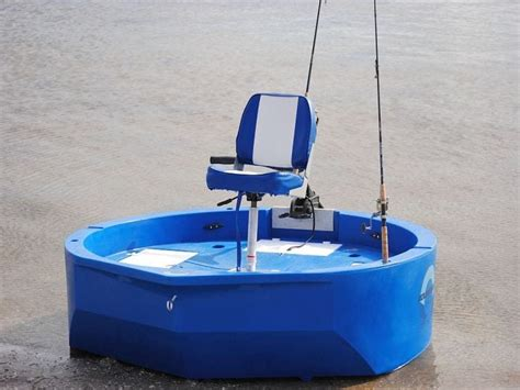 Round About Boat by Round Boat Roundabout Round Skiff Ultra Shallow One Or