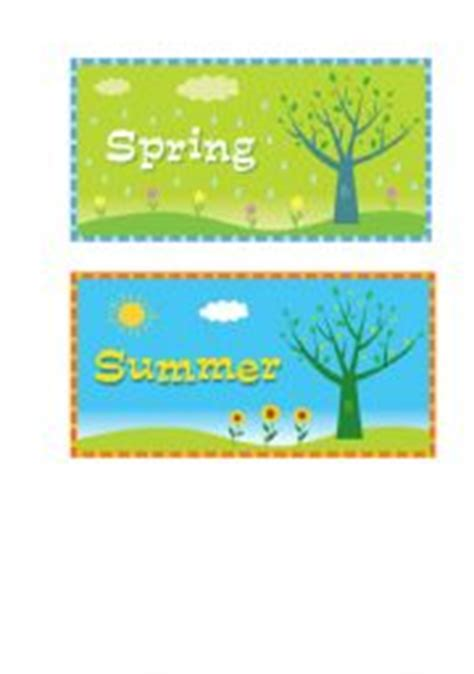 English Teaching Worksheets Seasons