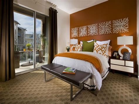 Master Bedroom Color Schemes Colors White And Soft Brown