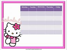 Cute Hello Kitty Calendar December 2018 To Print – 2018