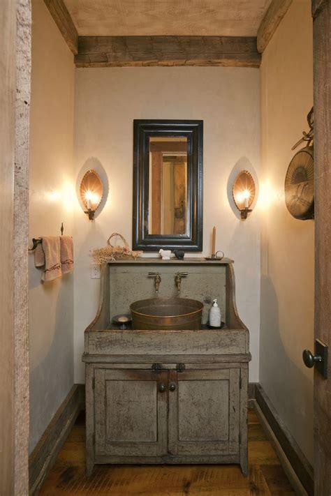 small rustic bathroom vanities home combo