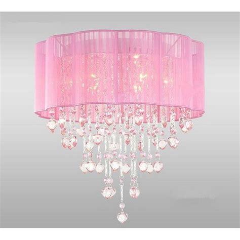 Pink Chandelier Lamp  15 Unbreakable Refined Arts In Your