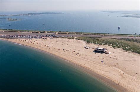 Zeeland Brouwersdam by Meer Zand Voor Strand Brouwersdam Ophetstrand