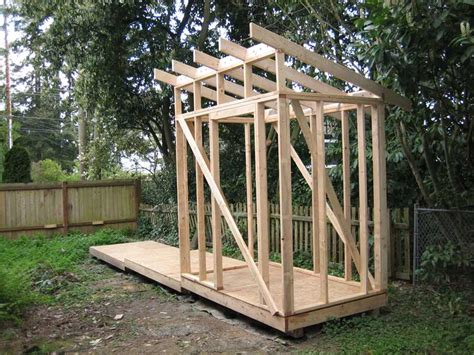 slant roof shed plans pin slant roof shed plans on