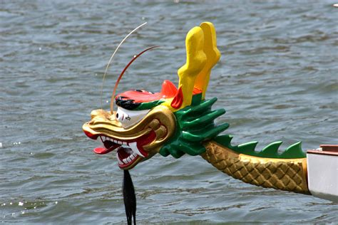 Parts Of A Dragon Boat by Dragon Boat Head Tail Set Pan Am Dragon Boat
