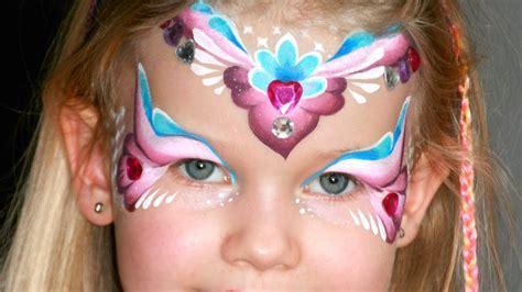 Pink-herz Prinzessin Kinderschminken Anleitung