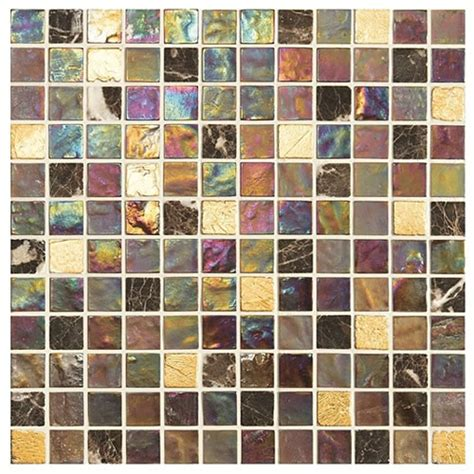 tiles of stow mosaics therapy iridescent glass