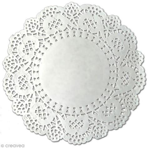 napperon en papier dentelle rond 12 5 cm 12 pcs napperon en papier creavea