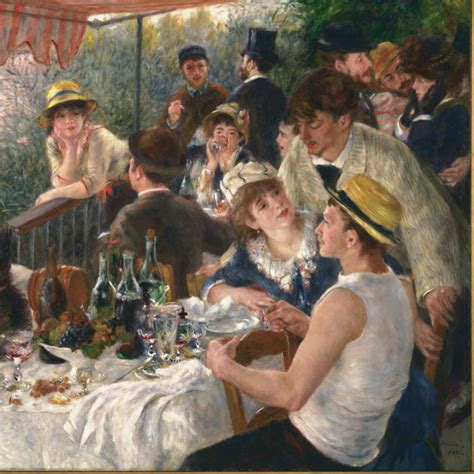 Luncheon Of The Boating Party Npr renoir s perfect lunch is not about the food ncpr news