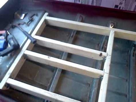jon boat deck frame