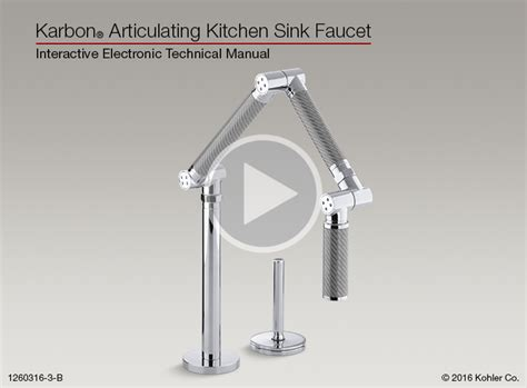 ietm troubleshooting for the karbon 174 articulating kitchen sink faucet