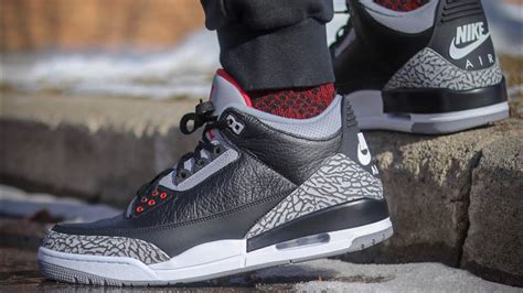 2018 Jordan 3 Black Cement Review! With On Feet! Watch Before You Buy! Three Chest Drawers Argos Under Oven Housing Drawer Kit B Q 2 Add On To Tables Neff Warming Instructions Mid Century Of Melbourne Bathroom Storage Black Asda Ipad Square Register Cash