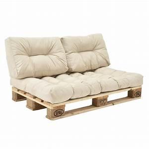 Bauanleitung Paletten Sofa : euro paletten sofa auflage 3x sitz r real ~ Markanthonyermac.com Haus und Dekorationen