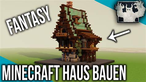 Minecraft Fantasy Haus Bauen  Pixelbiester  Teil 1 Youtube