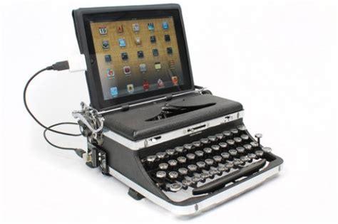 gadget de la semaine l usb typewriter la machine 224 233 crire 2 0 pour vos pc mac et tablettes