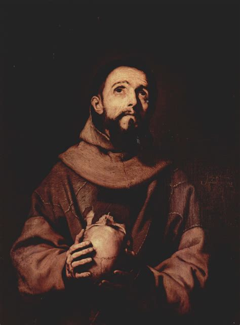st francis of assisi 1643 jusepe de ribera wikiart org