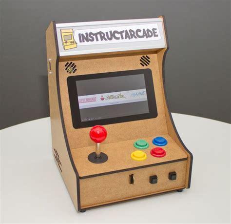 mini pi powered arcade machine raspberry