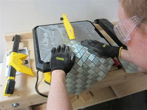 how to cut glass and tiles that are mixed the home depot community