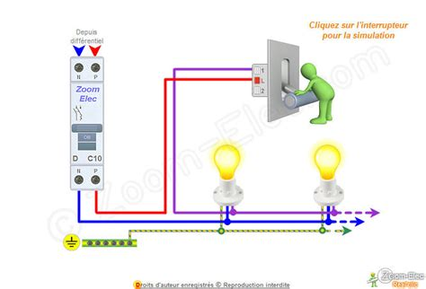 schma interrupteur simple allumage schma lectrique