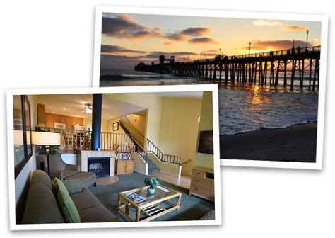 aquamarine villas resort rentals and timeshare exchanges with kitchens in oceanside california