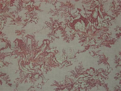 Country 100% Cotton Pink Toile Early American Or French Kitchen Table Seats 8 Foldable Set Monarch Of Three Coffee Tables Asian Settings How To A For Course Meal Linens Online Toddler Chair And