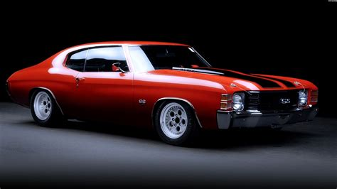 Red And Black Muscle Cars 3 Background