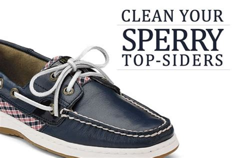 Best Boat Shoes That Can Get Wet by Clean Your Sperry Top Siders Clean My Space