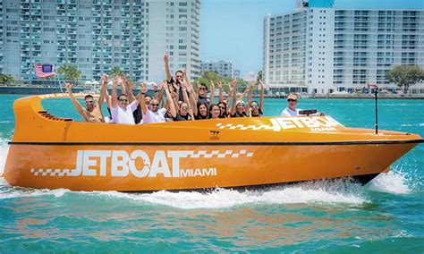 Party Boat Miami Groupon by Jet Boat Miami Up To 43 Off Miami Fl Groupon