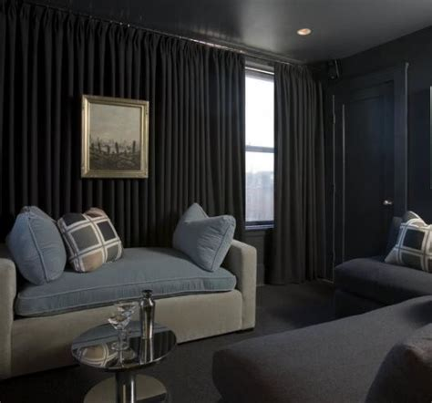 Media Room  Transitional  Home Theater  Atlanta By
