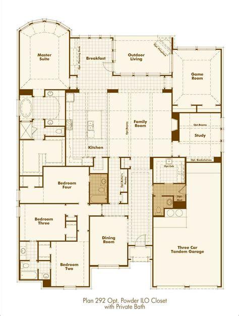 new home plan 292 in prosper tx 75078