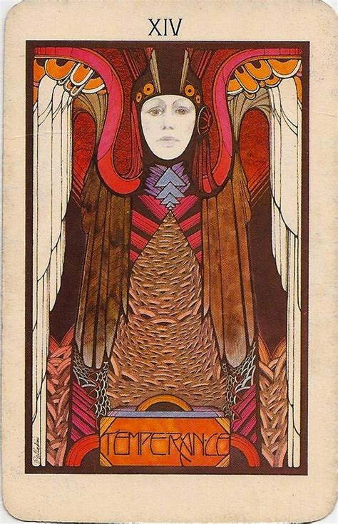 deco deck of aquarian tarot designed by graphic artist david palladini and published in