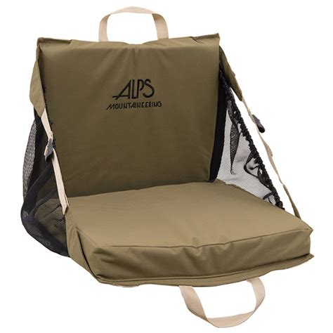 alps mountaineering explorer xt stadium seat khaki brl outdoor store
