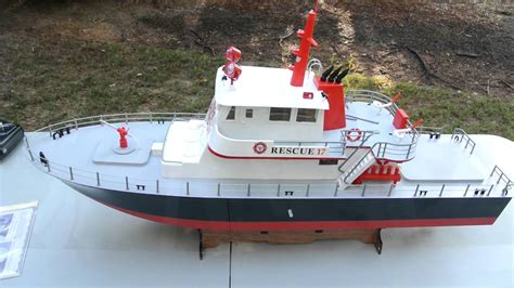 Rc Fire Boat Youtube by Aquacraft Rescue 17 Fireboat 2 4ghz Rtr Rc Boat Unboxed