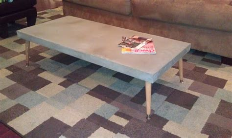 Diy Concrete Table  Dave And Kelly Davis