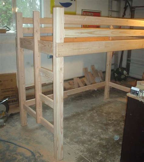 Loft Bed Woodworking Plans by Bunk Bed