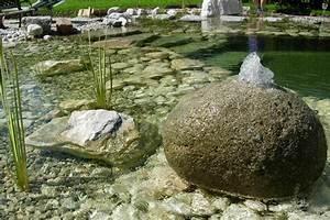 Badeteich Im Garten : wasser im garten teiche biotope quellsteine bachlauf im garten ~ Markanthonyermac.com Haus und Dekorationen