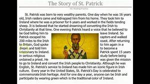ESL Reading - The Story of St Patrick - YouTube