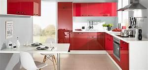 Welche Weiße Farbe Deckt Am Besten : appetitanregend rote k chen bei m bel kraft m bel kraft ~ Markanthonyermac.com Haus und Dekorationen