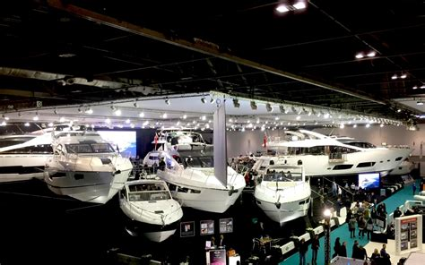 London Boat Show Visitors 2017 by Sunseeker Draws The Crowds At Cwm Fx London Boat Show 2015