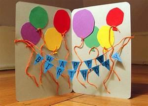 Basteln Mit Kindern 5 Geburtstag : geburtstagskarten basteln 30 tolle ideen mit anleitung zum nachmachen ~ Whattoseeinmadrid.com Haus und Dekorationen