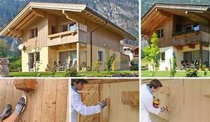 Holzfassade Streichen Preis : holzfassade renovieren tipps von adler ~ Markanthonyermac.com Haus und Dekorationen