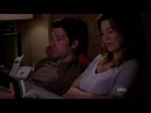 Grey's Anatomy - 5x08 - Meredith & Derek Bed Scene - YouTube