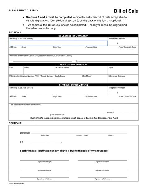 Texas Boat Bill Of Sale Exle by Bill Of Sale Texas Template Sle Worksheets Boat Firearm