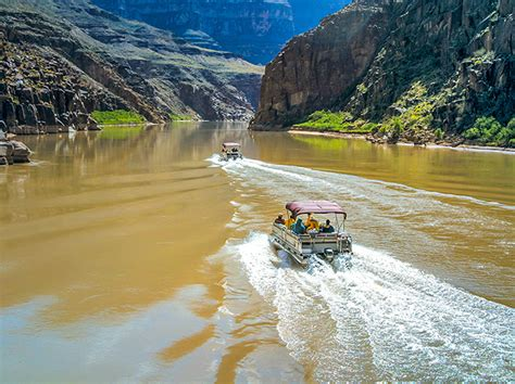 Boat Ride Grand Canyon South Rim by Grand Canyon West Rim Bus Heli Boat From Vegas