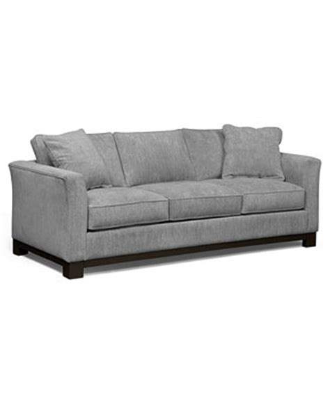 kenton fabric sofa custom colors furniture macy s